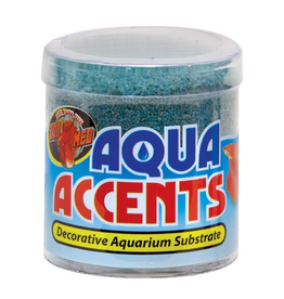 (D) Aqua Accents Decorative Substrate - Terminator Teal Sand - 0.5 lb