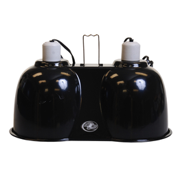 (P) Zoo Med Combo Deep Dome Lamp Fixture - Large