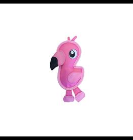 OUTWARD HOUND (D) Outward Hound Invincibles Fire Biterz Flamingo Small Dog Toy