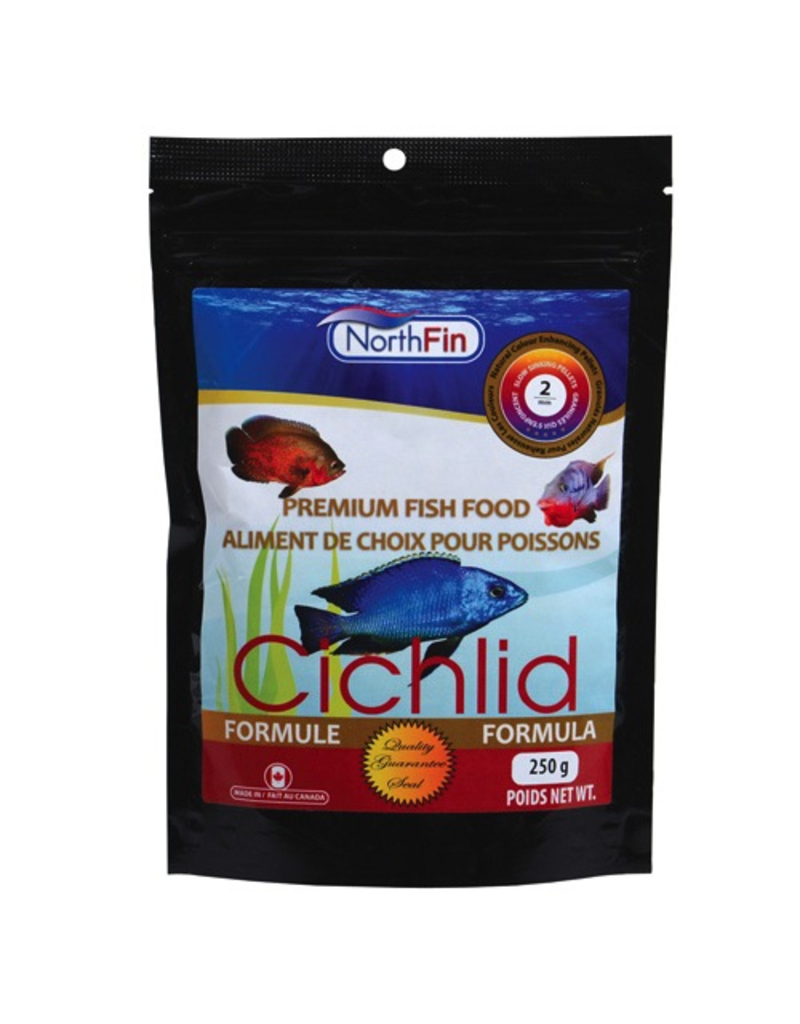 NORTH FIN NF CICHLID FORMULA 2MM 250G