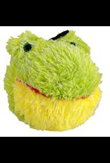 "ANIMAL TREASURES AT EZ Squeaky Plush Toy - Frog - 4"""