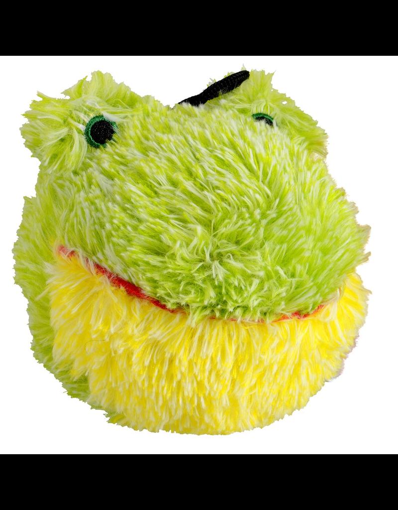 "ANIMAL TREASURES (D) AT EZ Squeaky Plush Toy - Frog - 4"""