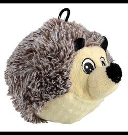 "ANIMAL TREASURES (D) AT EZ Squeaky Plush Toy - Hedgehog - 4"""