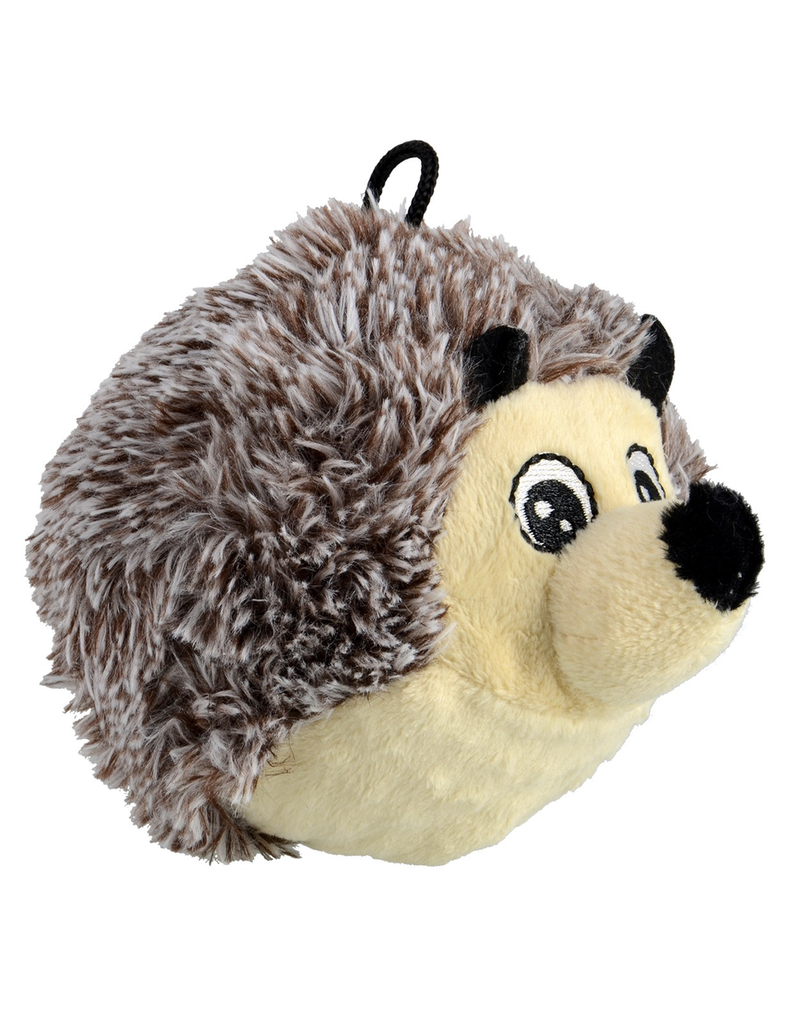 ANIMAL TREASURES AT EZ Squeaky Plush Toy - Hedgehog - 4""