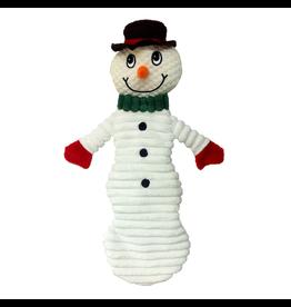"ANIMAL TREASURES (D) AT X-Mas Plush Dog Toy - Snowman - 12"""