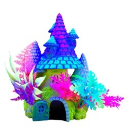 MARINA Marina iGlo Fantasy House with Plants, 8""
