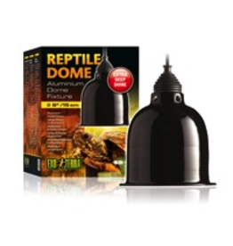 EXO TERRA Exo Terra Reptile Aluminum Dome Fixture, Small, 15 cm