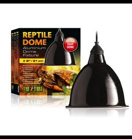 "EXO TERRA Exo Terra Reptile Aluminum Dome Fixture, Large, 21 cm (8"")"