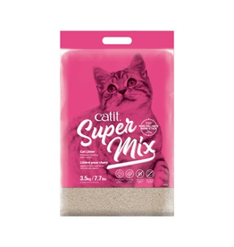CAT IT Catit Super Mix Cat Litter PINK - 3.5 kg (7.7 lbs)