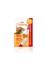 CAT IT Catit Creamy Lickable Cat Treat - Chicken & Liver Flavour - 12 pack