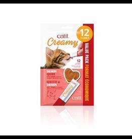 CAT IT Catit Creamy Lickable Cat Treat - Salmon Flavour - 12 pack