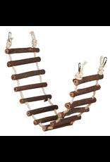 """PREVUE HENDRYX Naturals Rope Bird Ladder - 27.75"""""""