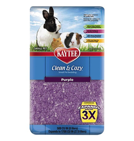KAYTEE Clean and Cozy Small Pet Bedding - 500 cu in - Purple