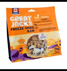 GREAT JACK'S Great Jack's Freeze Dried Raw Treats - Chicken - 7 oz