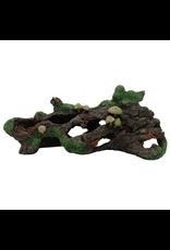 MARINA (D) Marina Hollow Log w/Moss Cover & Mshroom-V