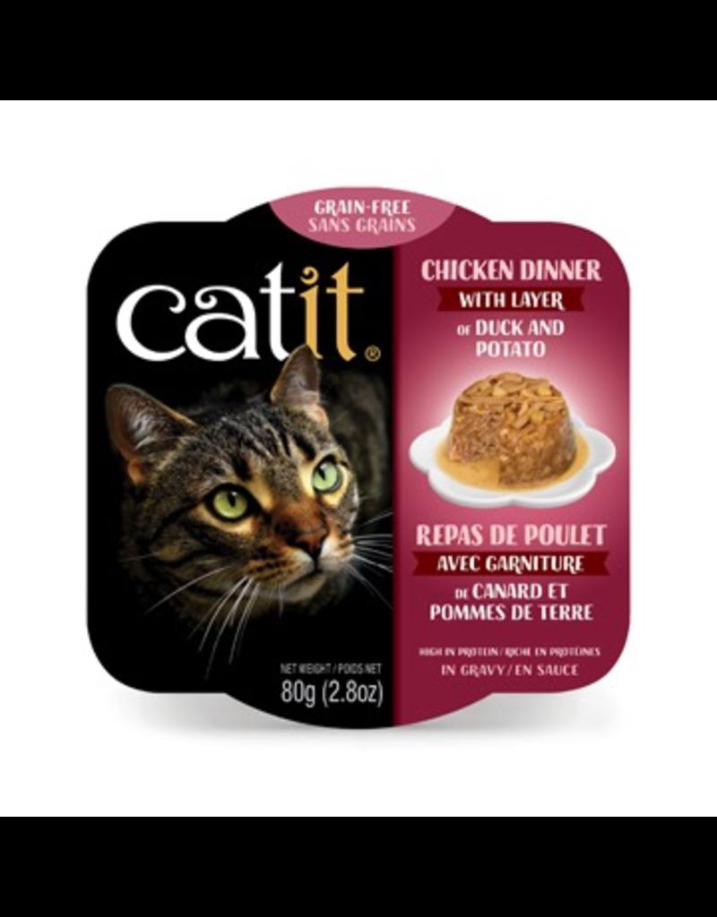 CAT IT Catit Chicken Dinner with Duck & Potato - 80 g (2.8 oz)