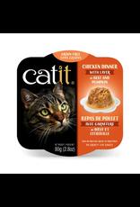 CAT IT Catit Chicken Dinner with Beef & Pumpkin - 80 g (2.8 oz)
