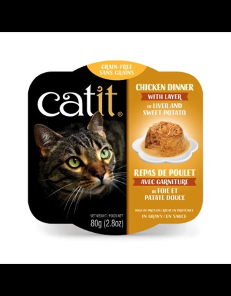 CAT IT Catit Chicken Dinner with Liver & Sweet Potato - 80 g (2.8 oz)