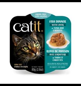 CAT IT Catit Fish Dinner with Tuna & Carrots - 80 g (2.8 oz)