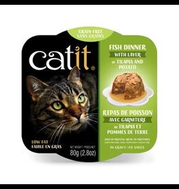 CAT IT Catit Fish Dinner with Tilapia & Potato - 80 g (2.8 oz)