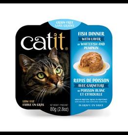 CAT IT (W) Catit Fish Dinner with Whitefish & Pumpkin - 80 g (2.8 oz)