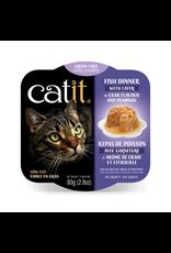CAT IT (W) Catit Fish Dinner with Crab Flavor & Pumpkin - 80 g (2.8 oz)