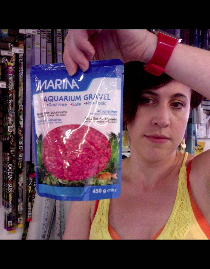 MARINA MA Dec Aqua Gravel Red 450g