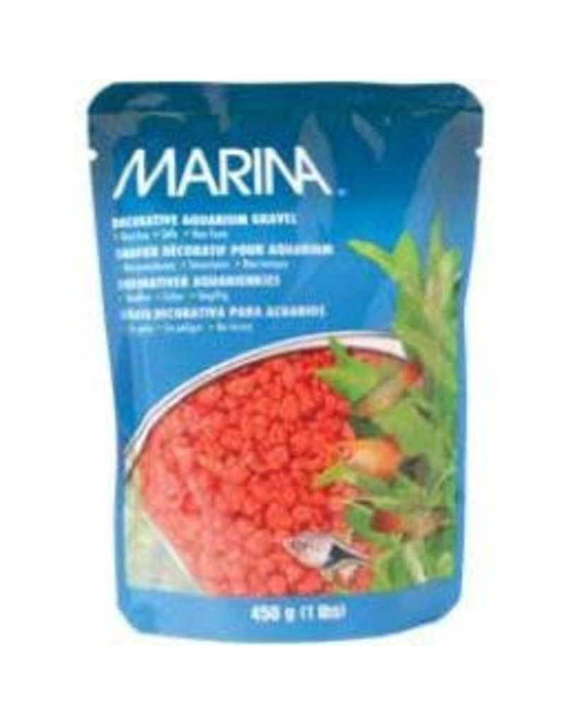 MARINA Marina Dec.Aquarium Gravel Orange-V
