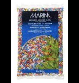 MARINA Marina Decorative Gravel, Rainbow 2kg-V