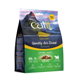 CAT IT Catit Gold Fern Premium Air-Dried Cat Food - Chicken - 100 g (3.5 oz)