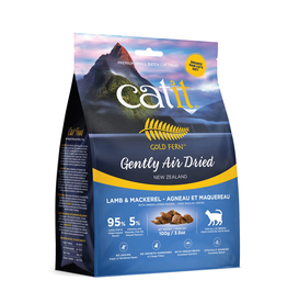CAT IT Catit Gold Fern Premium Air-Dried Cat Food - Lamb & Mackerel - 100 g (3.5 oz)
