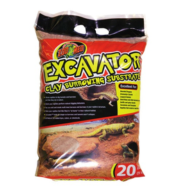 Zoo Med Excavator Clay Burrowing Substrate - 20 lb