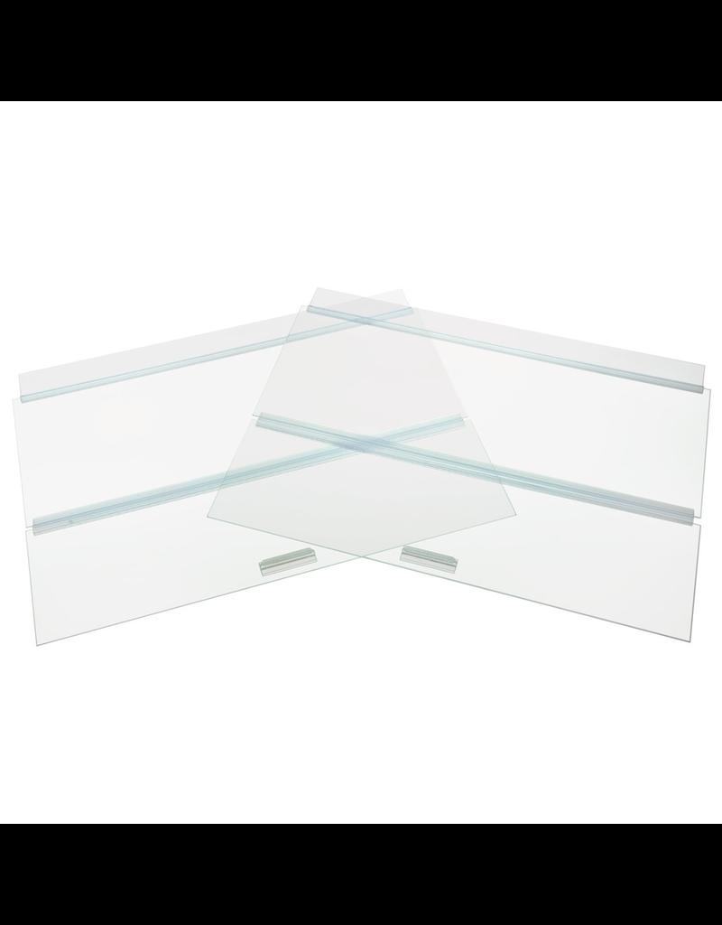 """SEAPORA (W) SE Glass Canopy - 48"""" x 18"""""""