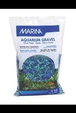 MARINA MA Dec.Aqua.Gravel Tri Color Blue-2kg-V