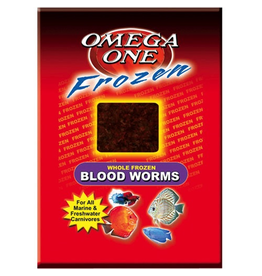 OMEGA ONE OE FR BLOODWORMS 3.5OZ CUBE