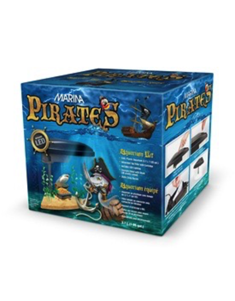MARINA Marina Pirates Aquarium Kit  1 US Gal.
