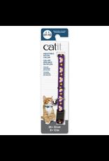 CAT IT Catit Adjustable Breakaway Nylon Collar - Purple with Pink Bows - 20-33 cm (8-13 in)