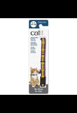 CAT IT Catit Adjustable Breakaway Nylon Collar - Purple with Flowers - 20-33 cm (8-13 in)