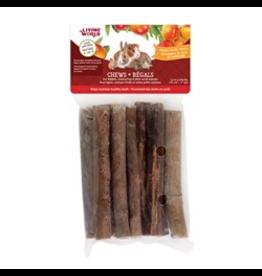 "LIVING WORLD Living World Small Animal Chews, Mango Wood Sticks, 10 pcs, 4"""