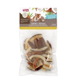 LIVING WORLD Living World Small Animal Chews, Dried Coconut Chips, 45 g