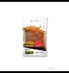 EXO TERRA Exo Terra Stone Desert Substrate - Outback Red Stone - 5 kg (11 lbs)