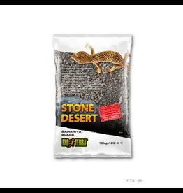 EXO TERRA (W) Exo Terra Stone Desert Substrate - Bahariya Black - 10 kg (22 lbs)