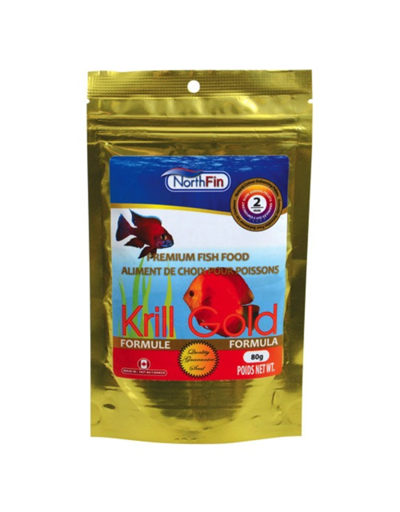 NORTH FIN NF KRILL GOLD 2MM 80G