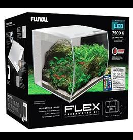 FLUVAL (P) Fluval Flex Aquarium, White, 57L,15gal