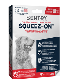 SENTRY Sentry Over 30 KG Dog Flea, Tick & Mosquito Control