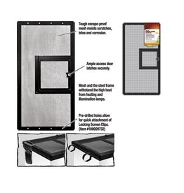 ZILLA (W) ZILLA SCREEN COVER DOOR (24X12)