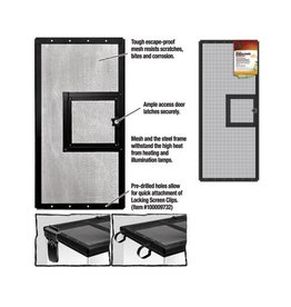 ZILLA (W) ZILLA SCREEN COVER DOOR (30X12)