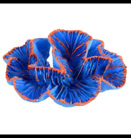 UNDERWATER TREASURES (W) Open Brain Coral - Blue - Small