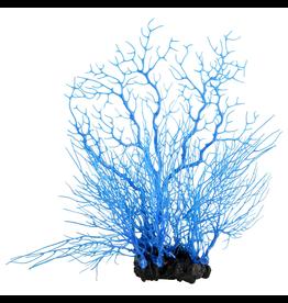 UNDERWATER TREASURES (W) Sea Fan Coral - Deep Blue