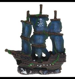 UNDERWATER TREASURES (W) UT TALL PIRATE  SHIP